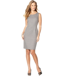 Kasper - Sleeveless Sheath Dress