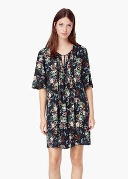 Mango - Floral Print Dress