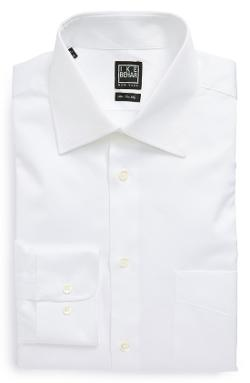 Ike Behar  - Regular Fit Solid Dress Shirt