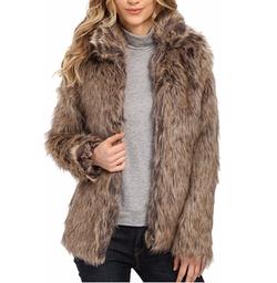 Mjkjsdfh - Karrie Faux Fur Jacket