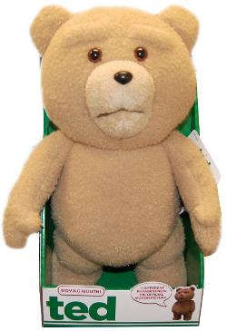 Commonwealth Toys - Ted The Movie Ted With Sound & Moving Mouth PG