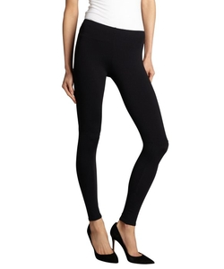Wyatt - Black Basic Pull-On Leggings