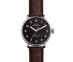 Shinola - Canfield Leather Strap Watch