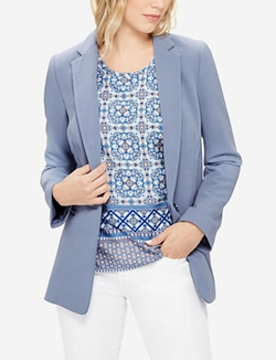 The Limited - Long One Button Blazer