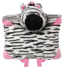 Pillow Pets - Zippity Zebra Backpack