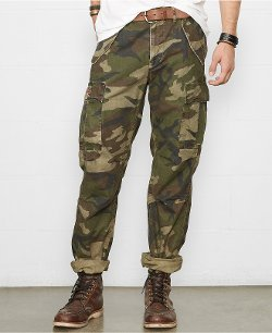 Denim & Supply Ralph Lauren  - Camo Cargo Pants