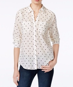 Maison Jules - Polka-Dot Shirt