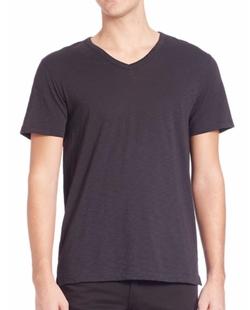 Vince - Slub V-Neck Tee Shirt