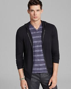 John Varvatos Collection  - Zip Hoodie Sweater