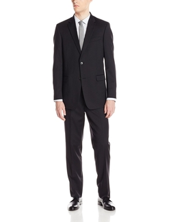 Tommy Hilfiger - Solid Twilltrim Fit Suit