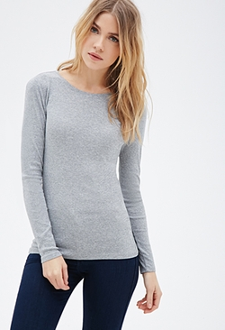 Forever21 - Classic Knit T-Shirt