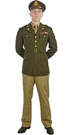 Boston Costume - World War II U.S. Army Officer