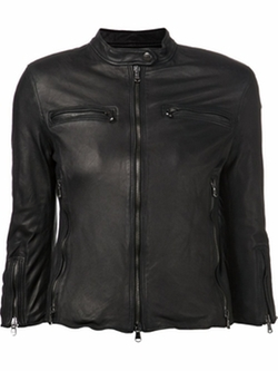 R13 - Cafe Leather Racer Jacket