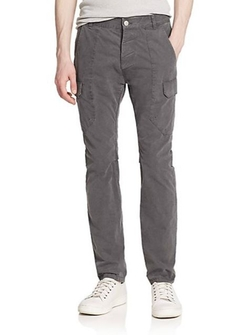 Helmut Lang  - Slim-Fit Cotton Cargo Pants
