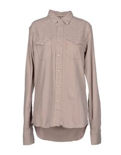 Shield - Long Sleeves Demin Shirt