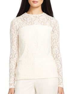 Lauren Ralph Lauren - Lace Top
