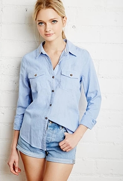 Forever 21 - Classic Woven Shirt