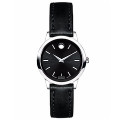 Movado - Automatic Leather Strap Watch