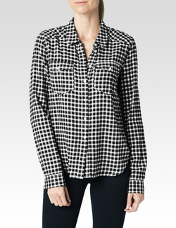 Paige  - Mya Shirt Kinsley Plaid