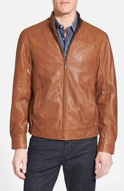 Missani Le Collezioni - Leather Bomber Jacket
