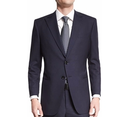 Giorgio Armani - Taylor Textured Herringbone Wool Suit