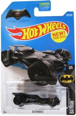Hot Wheels - Dawn of Justice Batmobile
