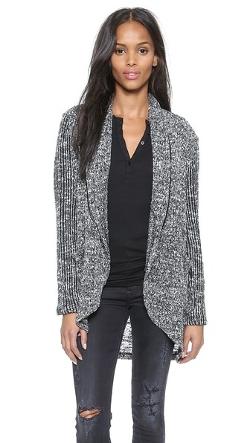 Splendid - Hudson Melange Loose Knit Cardigan