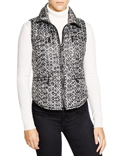 MICHAEL Michael Kors - Snake Print Puffer Vest