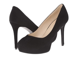 Nine West - Juliette Suede Platform Pumps