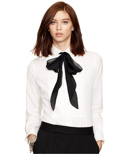 Polo Ralph Lauren - Tie Neck Blouse