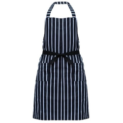 Zicome - Chalk Stripe Bib Apron