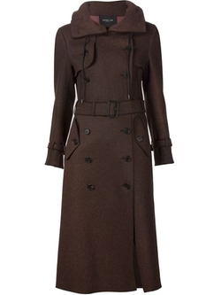 Derek Lam - Hooded Long Trench Coat