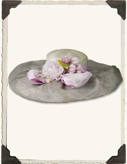 Victorian Trading Co - Louise Green Lilac Garden Society Hat