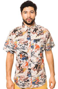 Matix  - The Atomic Hawaiian Buttondown in Natural
