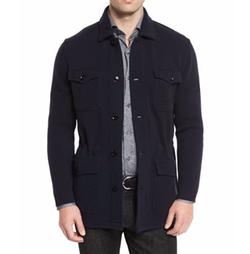 Ermenegildo Zegna - Wool/Cashmere-Blend Jersey Field Jacket