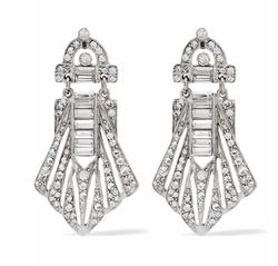 Ben-Amun - Silver-Tone Crystal Earrings