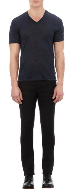 John Varvatos  - Basic V-neck T-shirt