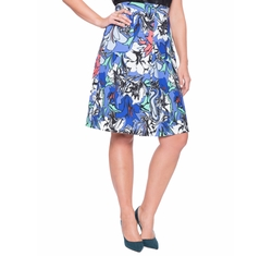 Eloquii - Printed Pleat Skirt