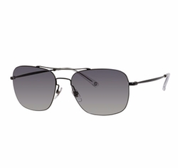 Gucci  - Semi-Matte Metal Aviator Sunglasses