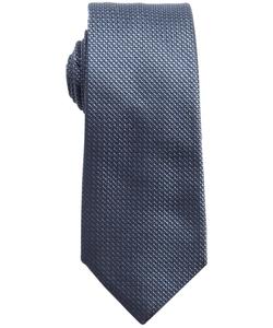 Valentino - Textured Check Silk Tie