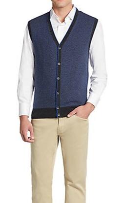 Saks Fifth Avenue - Cashmere Sweater Vest