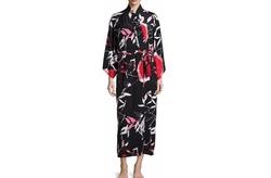 Natori - Lana Floral-Print Long Wrap Robe