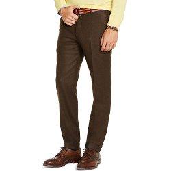 Ralph Lauren - Slim-Fit Wool Flannel Trousers