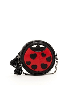 Susu  - Mary Ladybug Crossbody Leather Bag