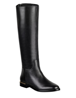 Marc Fisher Ltd  - Maxi Leather Knee-High Boots