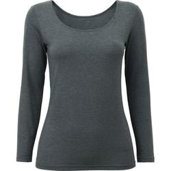 Uniqlo - Heattech Scoop Neck Long Sleeve T-Shirt