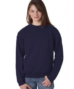 Embroidery - Youth Crew Neck Sweatshirt