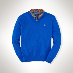 Ralph Lauren - Cotton V-Neck Pullover