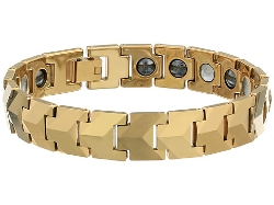 Stacy Adams - Diamond Cut Interlocking Bracelet