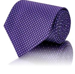 Brioni - Micro-Dot & Square-Print Necktie